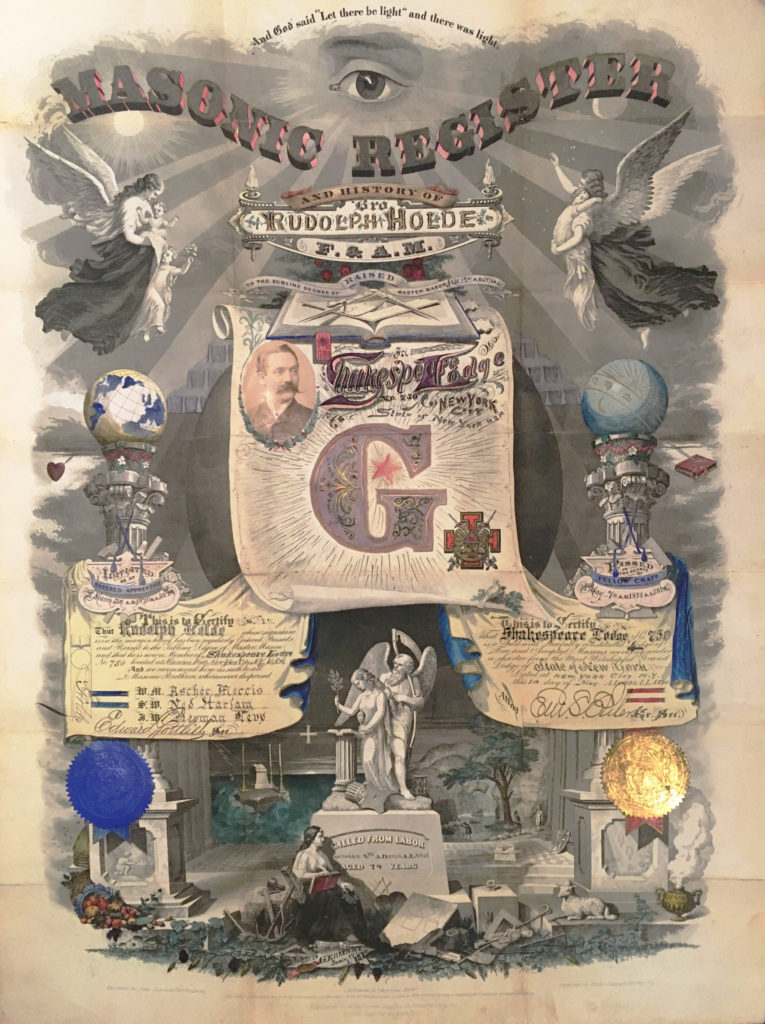 Exploring the Travel Certificate Collection – The Chancellor Robert R Livingston Masonic Library of the Grand Lodge of New York